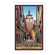 Rothenburg Weisserturm Postcards (Package of 8)