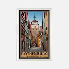 Rothenburg Weisserturm Rectangle Magnet