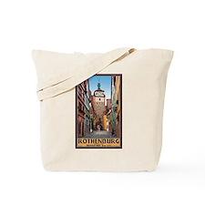 Rothenburg Weisserturm Tote Bag