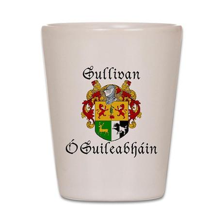 Sullivan In Irish & English Shot Glass