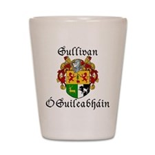 Sullivan In Irish & English Shot Glass