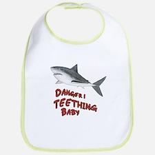Shark Danger! Teething Bib