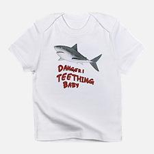 Shark Danger! Teething Infant T-Shirt