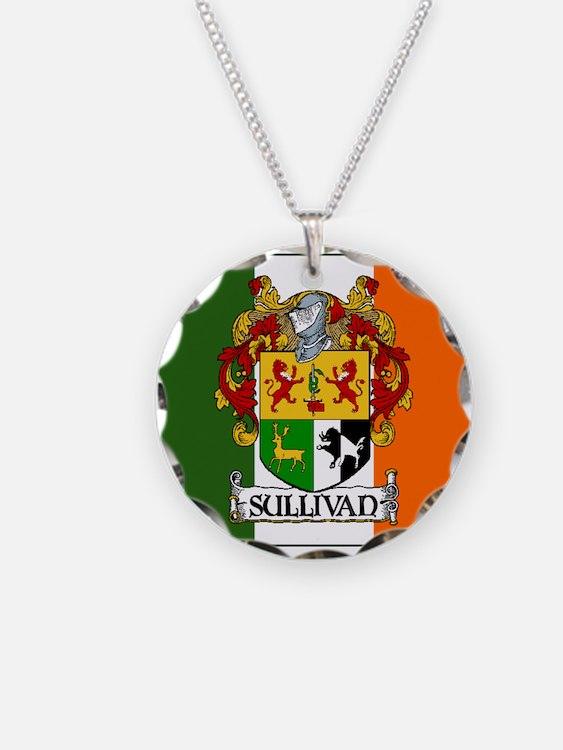Sullivan Arms Flag Necklace