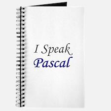 """""""I Speak Pascal"""" Journal"""