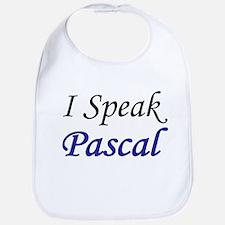 """I Speak Pascal"" Bib"