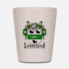 Sweeney Coat of Arms Shot Glass