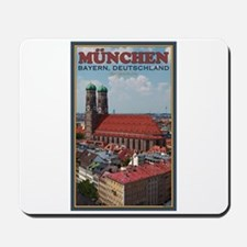 Munich Frauenkirche Mousepad