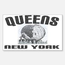 Queens, New York Rectangle Decal