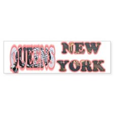 Queens, New York Bumper Bumper Sticker