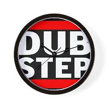 DubStep Logo Wall Clock
