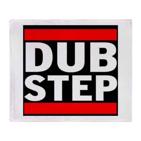 DubStep Logo Throw Blanket