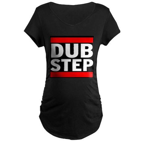 DubStep Logo Maternity Dark T-Shirt