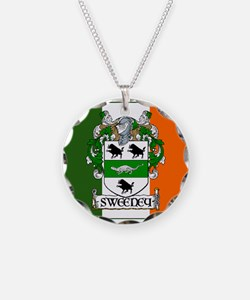 Sweeney Arms Flag Necklace