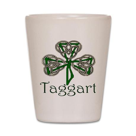 Taggart Shamrock Shot Glass