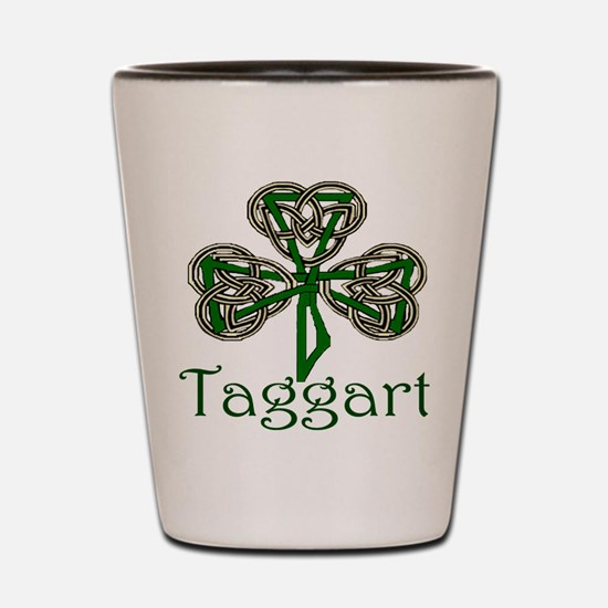 Taggart Shamrock Shot Glass