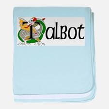 Talbot Celtic Dragon baby blanket