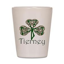 Tierney Shamrock Shot Glass