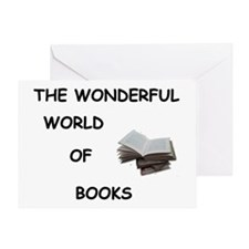 THE WONDERFUL WORLD OF BOOKS Greeting Card