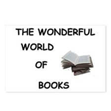 THE WONDERFUL WORLD OF BOOKS Postcards (Package of