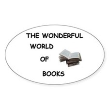 THE WONDERFUL WORLD OF BOOKS Decal
