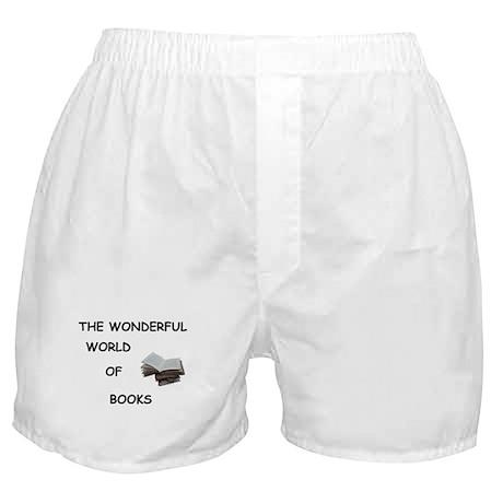 THE WONDERFUL WORLD OF BOOKS Boxer Shorts