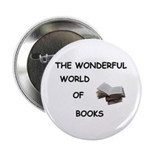 "THE WONDERFUL WORLD OF BOOKS 2.25"" Button"