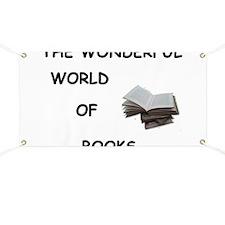 THE WONDERFUL WORLD OF BOOKS Banner