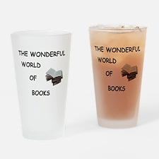 THE WONDERFUL WORLD OF BOOKS Pint Glass