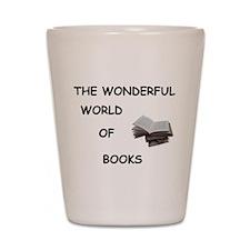 THE WONDERFUL WORLD OF BOOKS Shot Glass