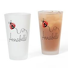 Ladybug Annabelle Pint Glass