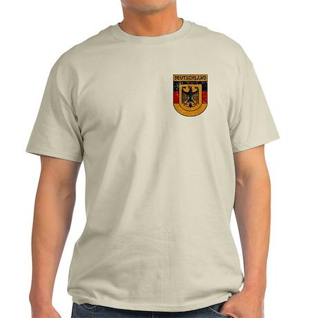 Deutschland (Germany) Shield Light T-Shirt