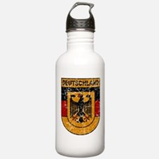 Deutschland (Germany) Shield Water Bottle
