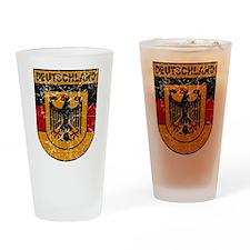 Deutschland (Germany) Shield Pint Glass