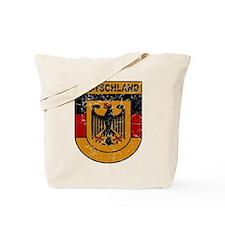 Deutschland (Germany) Shield Tote Bag