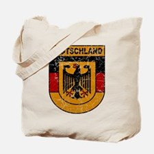 Deutschland (Germany) Shield Tote Bag