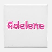 """""""Adelene"""" Tile Coaster"""