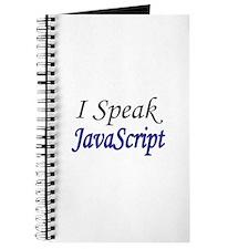 """""""I Speak JavaScript"""" Journal"""
