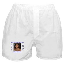 Baby Marz of Get Up Radio Boxer Shorts