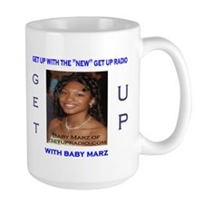 Baby Marz of Get Up Radio Mug