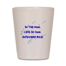 Life is Cool Shot Glass