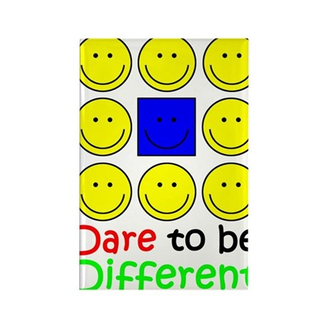 Dare to be Different Rectangle Magnet (10 pack)