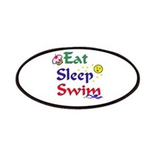 Eat Sleep Swim Patches