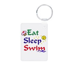 Eat Sleep Swim Keychains