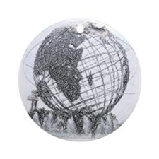 Queens, New York Ornament (Round)