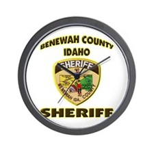 Benewah County Sheriff Wall Clock