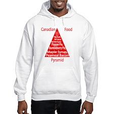Canadian Food Pyramid Hoodie