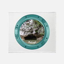 Belize Porthole Throw Blanket