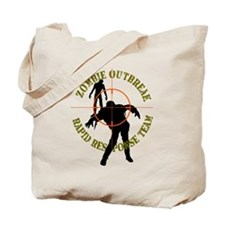 Zombie Outbreak Rapid Response Tote Bag