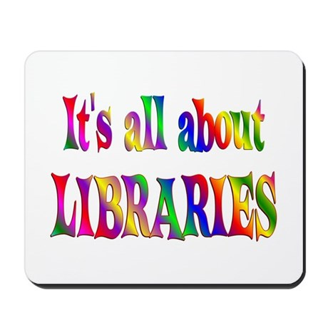 About Libraries Mousepad